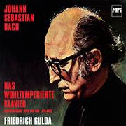 Friedrich Gulda: J.S. Bach Das Wohltemperierte Klavier Original-Cover